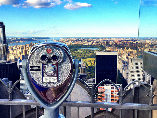 Buy tickets to Top of the Rock Observation Deck for a view of NYC on the rooftop of the iconic Rockefeller Center. Featuring an interactive beam walk, sky shuttle, and radiance wall, there's something to explore every step of the way. And a few ways to experience the journey. Learn about tickets now.