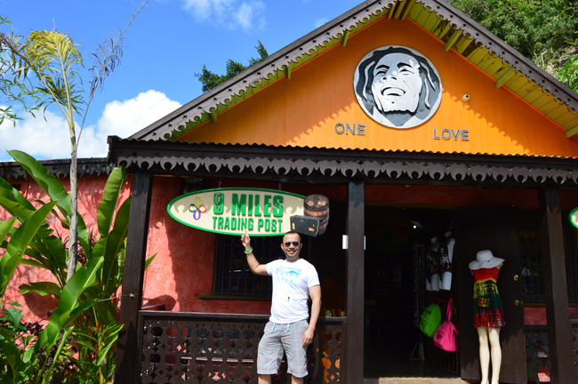 Bob Marley Tour Entrance