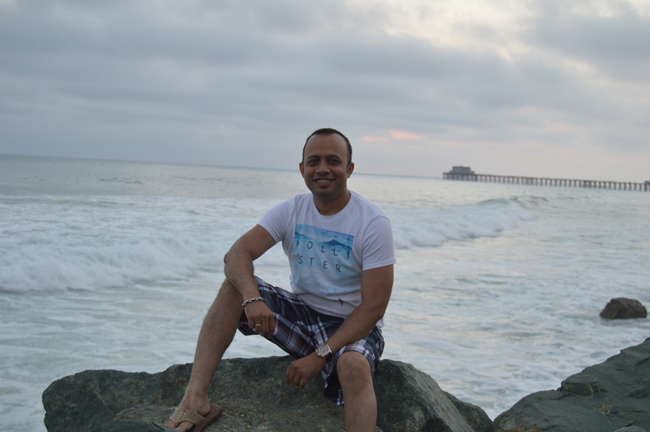 Oceanside Pier in Background