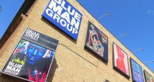 Blue Man Group at the Briar Street Theater in Chicago