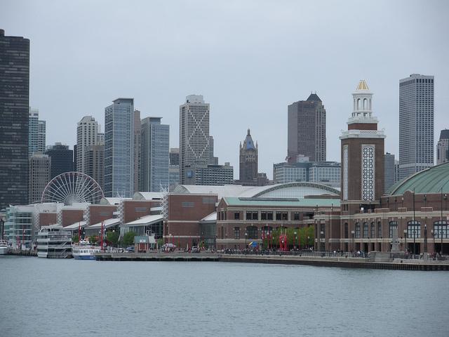 Navy Pier on Memorial Day Weekend in Chicago