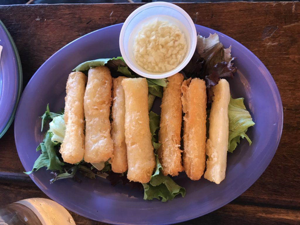 Yuca Frita at 90 MIles Cuban Cafe in Logan Square