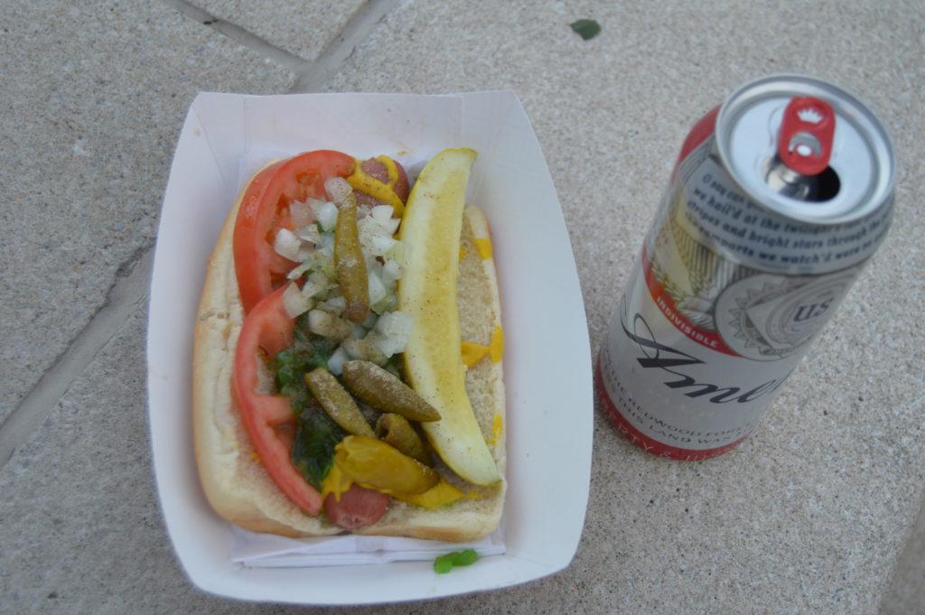 Chicago Hot Dog Michigan Ave Chicago