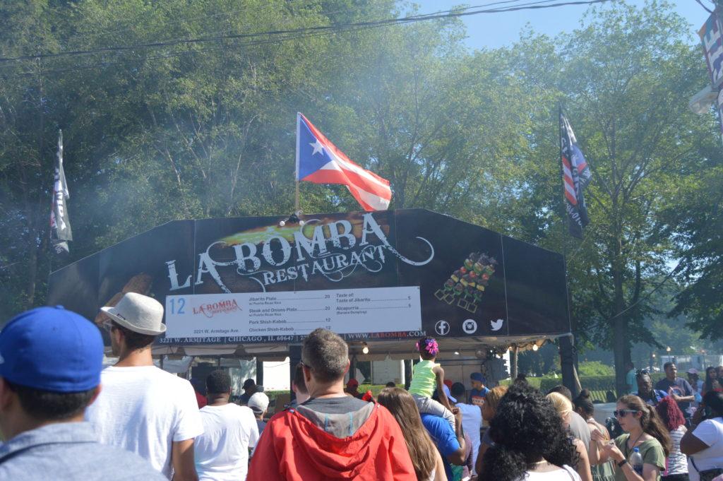 La Bomba Puerto Rican Restaurant Chicago