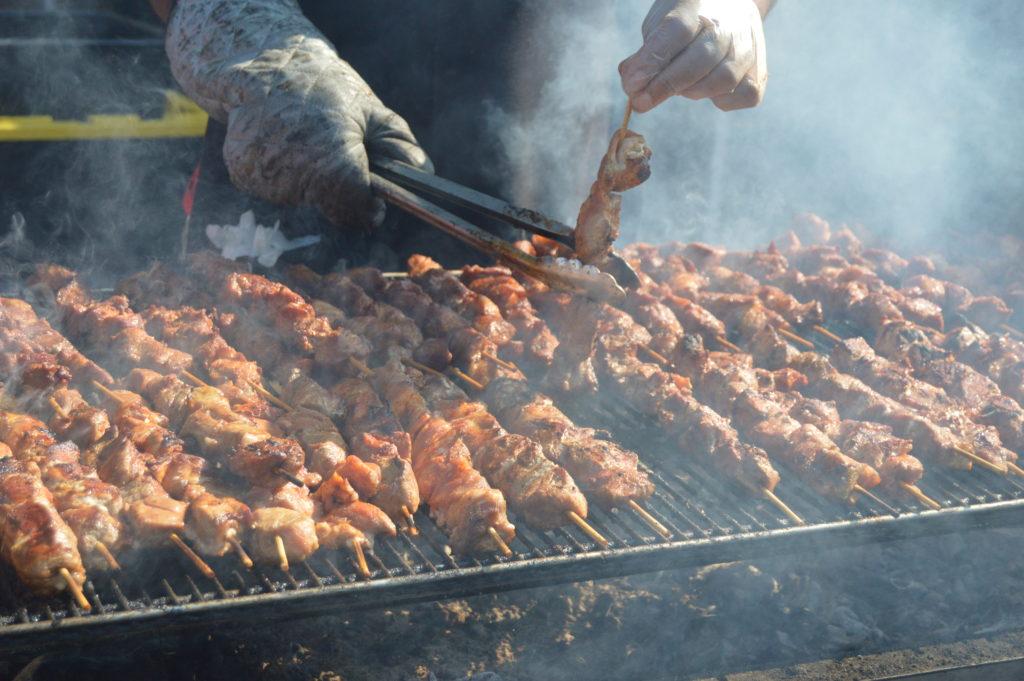 La Bomba Puerto Rican Chicken Kabob