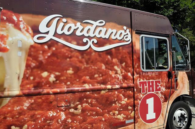 Giordanos Food Truck at Taste of Chicago