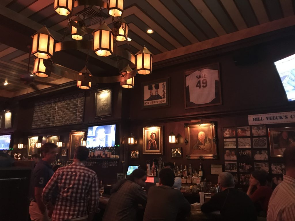 Bar at Miller's Pub Downtown Chicago
