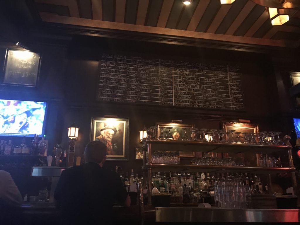 Bar at Miller's Pub Chicago