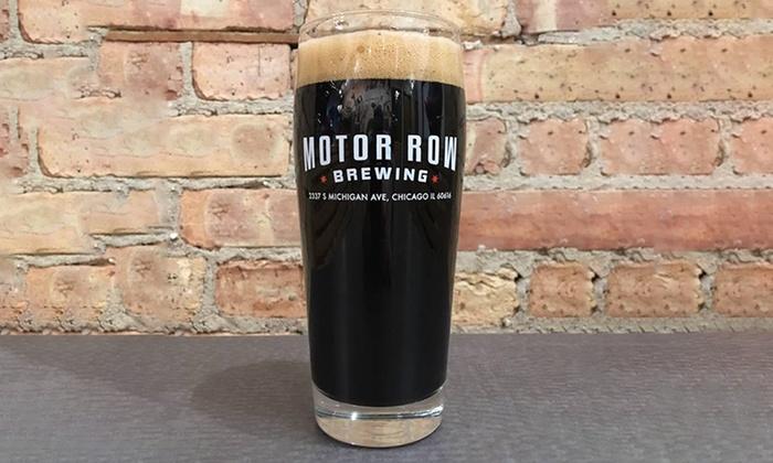 Mortor Row Brewing Groupon Deal