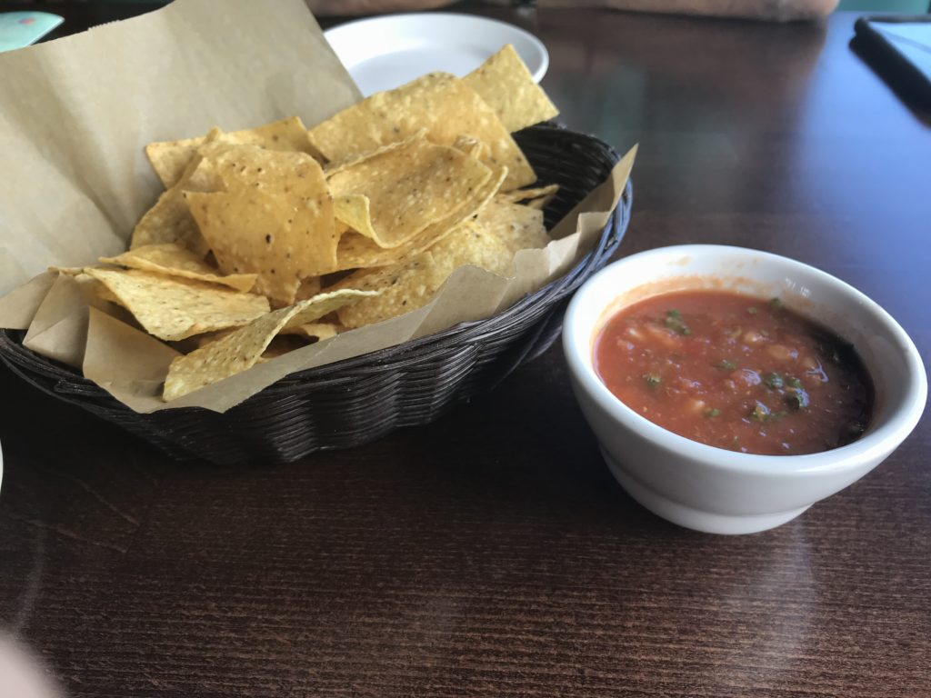 Chips from Cafe El Tapatio Restaurant Glenview
