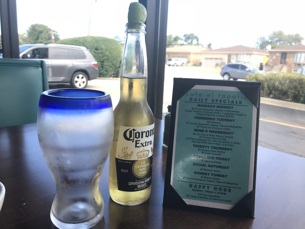 Happy hour at Cafe El Tapatio Restaurant