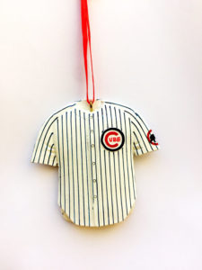chicago cubs jersey christmas ornament - Chicago Christmas Ornament