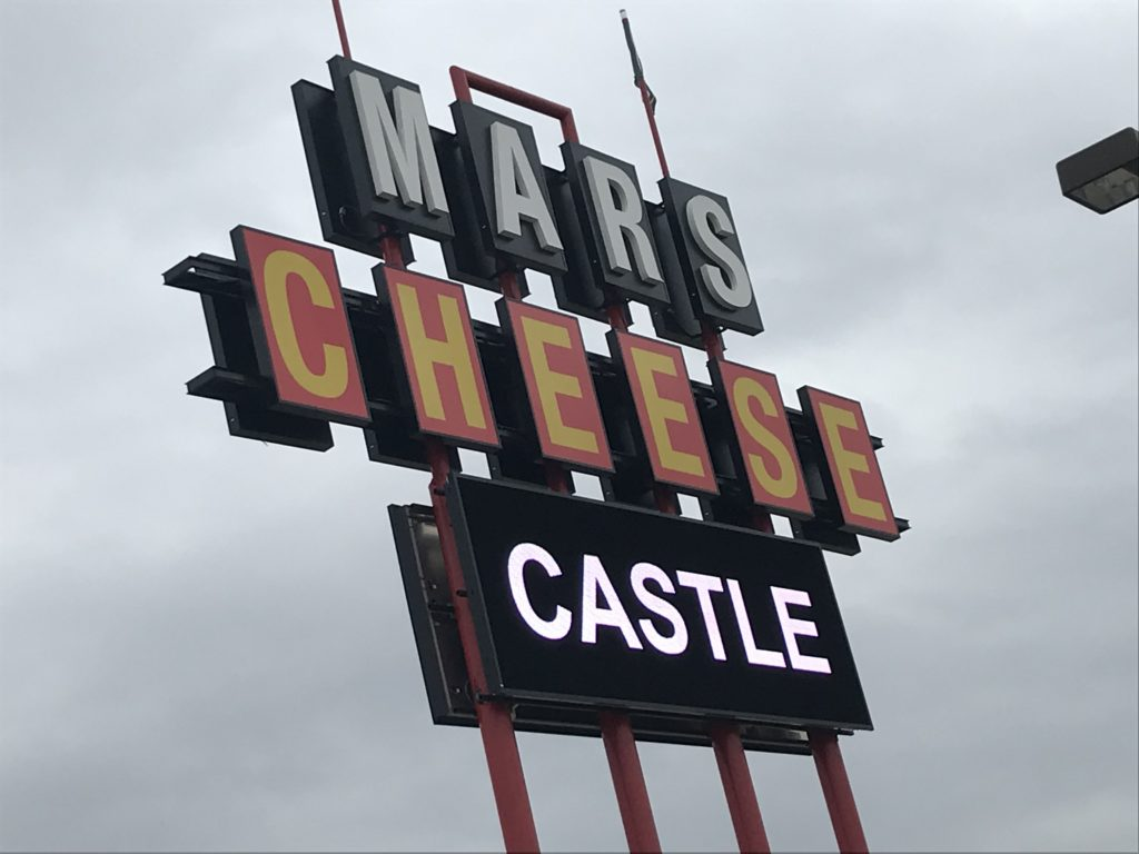 Mars Cheese Castle Wisconsin Sign