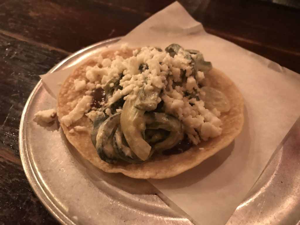 Rajas Taco from Taco Joint in Chicago