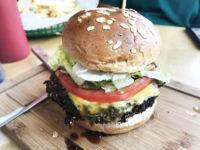 Lentil Rice Burger from Butcher & The Burger in Chicago.jpg