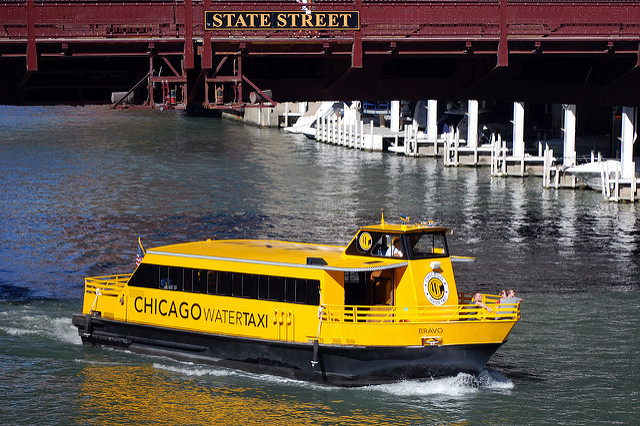 Getting Around Chicago by Water Taxi