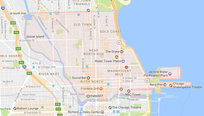 Where to Stay in Chicago Near North Side