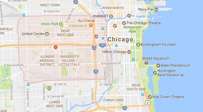 Where to Stay in Chicago Near West Side