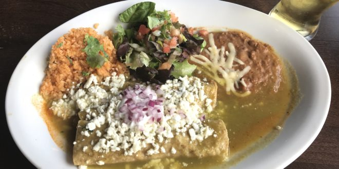 Enchiladas from Cafe El Tapatio Glenview