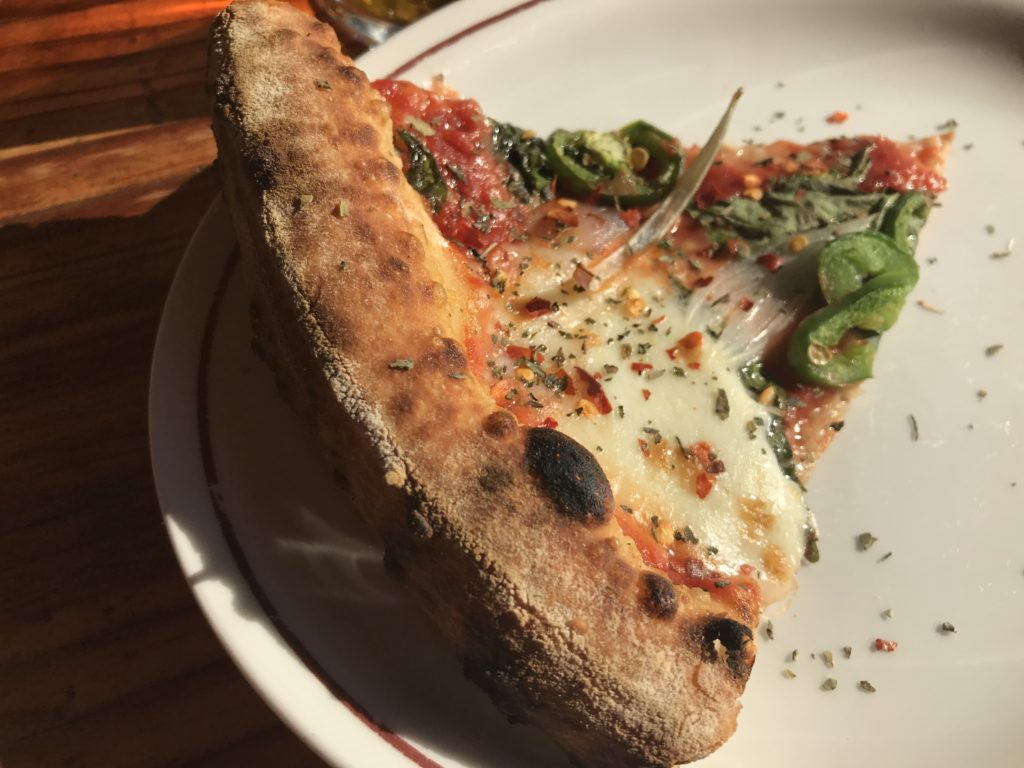 Pizza Slice from Parlor Pizza Bar