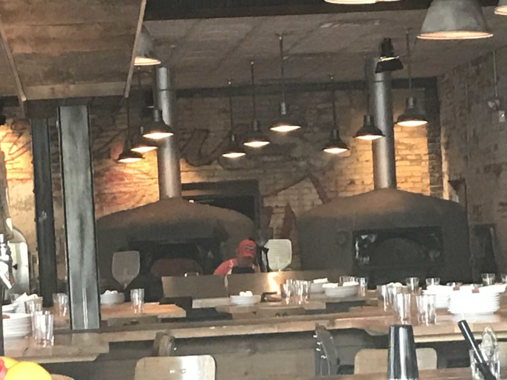 Wood Fired Oven at Parlor Pizza Bar in Wicker Park