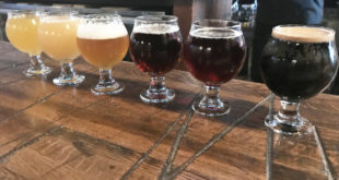 Beer Flight from Old Irving Brewing Co Irving Park
