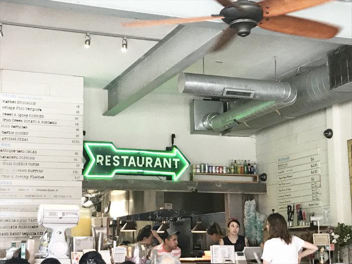 Antique Taco Restaurant Chicago Interior