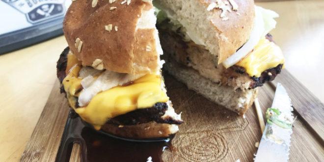 Customizable Burger at Butcher & The Burger Restaurant Chicago
