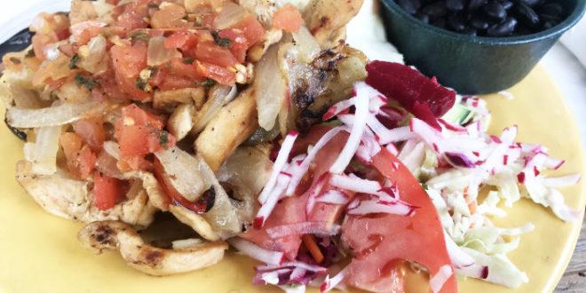 Casado from Irazu Costa Rican Restaurant Bucktown Chicago