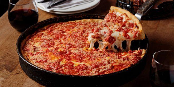 Chicago Lou Malnati's Deep Dish Pizza