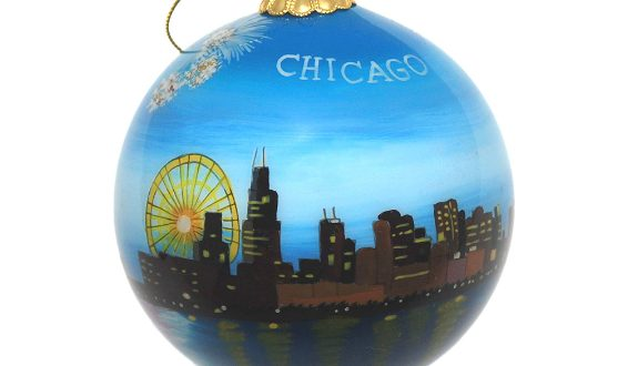 Chicago Christmas Tree Ornament Guide