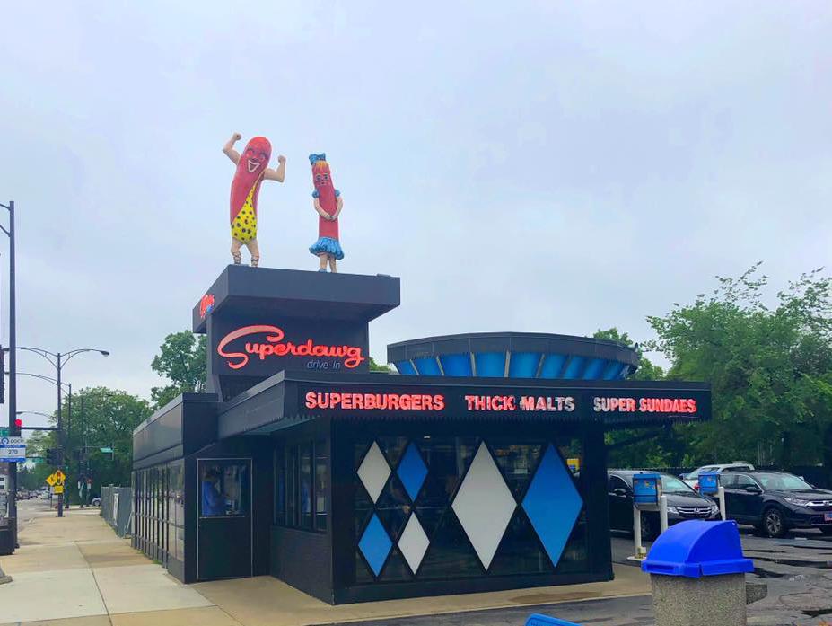 Superdawg Chicago Style Hot Dog
